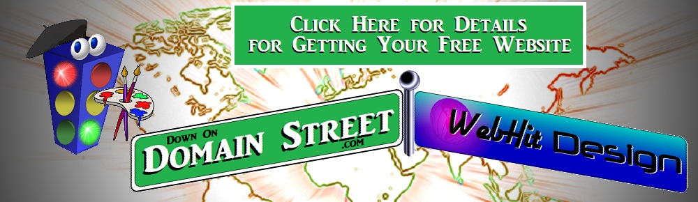 Get Your Free Website Deal at Down On Domain Street